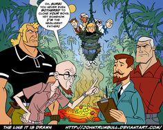 Venture Bros. Meets Jonny Quest!
