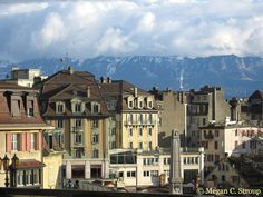 Vevey, Switzerland... go on a summer saturday for an awesome folkloric market/wine tasting!