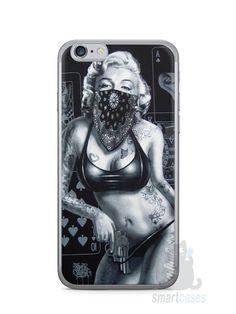 Capa Iphone 6/S Marilyn Monroe #3 - SmartCases - Acessórios para celulares e tablets :)