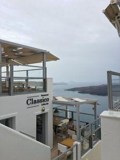 santorini | fira | classico Fira Santorini, Trip Advisor, Restaurant, Lifestyle, Big, Outdoor Decor, Travel, Beauty, Home Decor