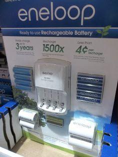 あめりか日記: コスコでお買い物 <ちょっと気になる充電池セット>