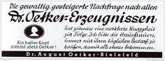 Original-Werbung/ Anzeige 1942 - DR.OETKER / KNAPPHEIT - ca. 200 x 75 mm
