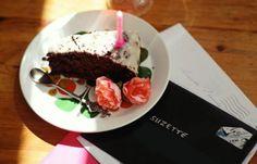 Chocolade bieten taart, veganistisch, hartstikke lekker!