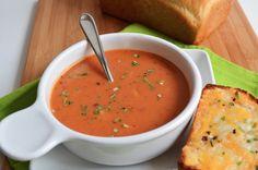Sopa de tomate para las noches de lluvia