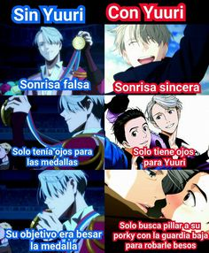 Yuri On Ice memes Lgbt Anime, Otaku Anime, Anime Meme, Victor Y Yuri, Yuri On Ice Comic, ユーリ!!! On Ice, Diabolik Lovers, Shounen Ai, Cool Pets