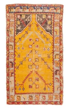 Antique Oushak Rugs (Turkish) Number 11706, Antique Turkish Rugs | Woven Accents