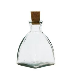 Grehom Recycled Glass Oil & Vinegar Bottle - Square Dome