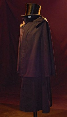 Siglo XIX hombre  vestuario Capa 515899b3291