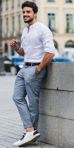 men's street style outfits for cool guys Modern Mens Fashion, Best Mens Fashion, Mens Fashion Suits, Men's Formal Fashion, Men Summer Fashion, Beach Fashion, Summer Men, Fashion Black, Fashion 2018