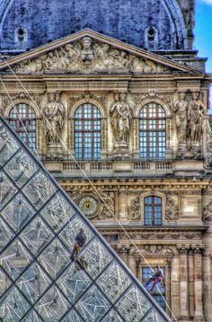Louvre, Paris France, by Jim Rappaport