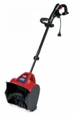 Don't break your back over the snow! Clean up the snow easily with this electric Power Shovel by Toro Electric Snow Shovel, Electric Snow Blower, Electric Power, Lawn Equipment, Outdoor Power Equipment, Electric Pencil Sharpener, Shoveling Snow, Riding Lawn Mowers, Tools For Sale