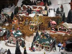 http://www.canterburyvillage.com/department-56.aspx Our Department 56 Original Snow Village Series Display at Olde World Canterbury Village. Visit us at www....