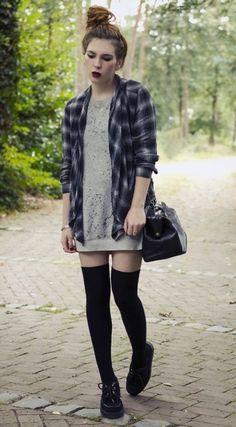 fb2e2d474 20 mejores imágenes de medias largas | Fashion women, Woman fashion ...