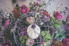 Bird Cage Florals As Centrepiece