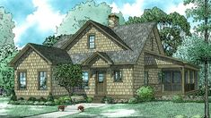 Home Plan HOMEPW77735 - 1560 Square Foot, 3 Bedroom 2 Bathroom + Low Country Home with 0 Garage Bays | Homeplans.com