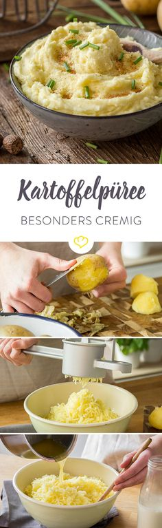 Du willst das cremigste Kartoffelpüree zubereiten, das du je gegessen hast? Mit diesen Tipps lässt sich das ganz einfach schaffen!