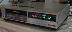 Tv Cable, Sony Electronics, Vcr Player, Classic Video, Retro Videos, Vintage Tv, Video Home, Audio Equipment, Suddenly