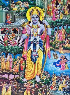 Kalamkari Painting, Tanjore Painting, Lord Sri Rama, Shri Ram Wallpaper, Ram Hanuman, Rama Image, Black Canvas Paintings, Ram Photos, Lord Vishnu Wallpapers