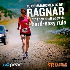 """Ragnar Training Tip: Follow the """"Hard-Easy Rule"""" - BLOGNAR"""
