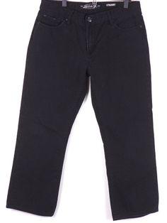 Seven 7 Straight Leg Denim Jeans 36 x 30 Measures 35 x 28 Black #2 #Seven7 #ClassicStraightLeg