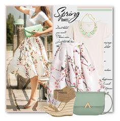 Ready for Spring! by brendariley-1 on Polyvore featuring polyvore, fashion, style, Majestic, Kate Spade, clothing and Spring