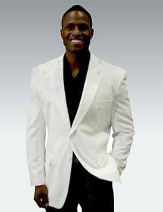 White Mens Blazer, machine washable - $99 Summer Suits, Suit Jacket, Blazer, Jackets, Men, Fashion, Down Jackets, Moda, Summer Outfits