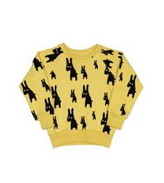 Lojadada : Produto : Sweater rabbits vintage yellow by Beau Loves