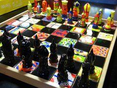 school+auction+class+project+ideas | Auction project chess set for Monroe Christian ... | Auction Item i...