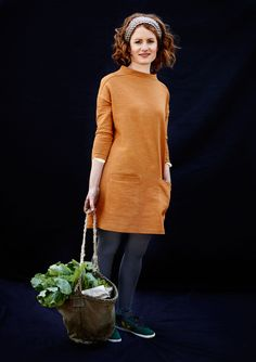 Looks comfortable and the color is cute. GANSEY TUNIC | TOAST. gansey!