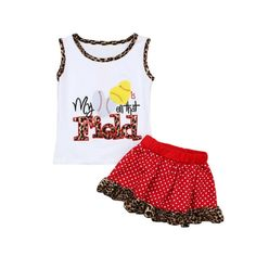 Dress up your little one and make them even cuter with this new outfit. Dance Outfits, New Outfits, Jack G, Valentines Outfits, Red Fashion, Dress Up, Tank Tops, Cute, Pineapple