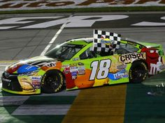 Kyle Busch wins at Kentucky 7/11/15.  (Photo credit: www.kylebush.com)