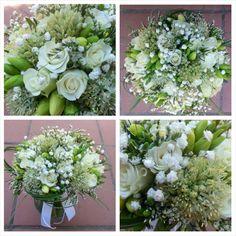 Ram de núvia amb fressia, rosetes i allium