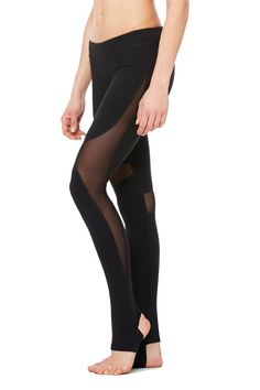 Alo Yoga - Coast Legging - Black-2