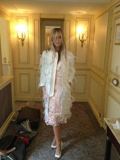 Abbey in Louis Vuitton.