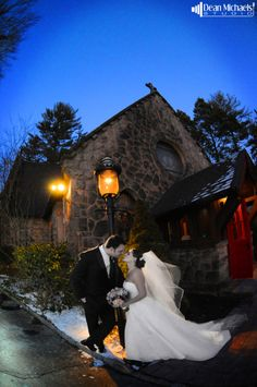 Karen & Kevin's January 2013 #wedding at the Hilton Woodcliff Lake, Church of the Holy Communion, and the Florentine Gardens! (photo by deanmichaelstudio.com) #njwedding #njweddings #winter #bride #groom #snow #love #photography #deanmichaelstudio