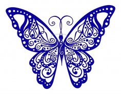 Artistic pattern with butterfly, suitable for a tattoo - Tattoo Schmetterling Lace Butterfly Tattoo, Butterfly Clip Art, Butterfly Images, Butterfly Tattoo Designs, Lace Tattoo, Butterfly Crafts, Butterfly Pattern, Butterfly Design, Mandala Arm Tattoo