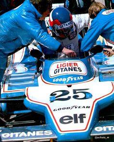 Patrck Depailler. Ligier JS11