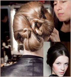 Alice Temperley a bun, hair fall winter 2012 2013 - She Look Book