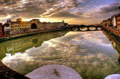 Florença - capital da Região da Toscana