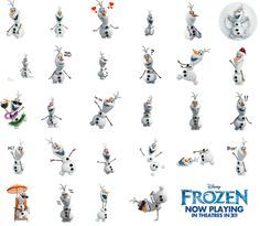 Download The Free Frozen Sticker Pack For Your Facebook Messages And