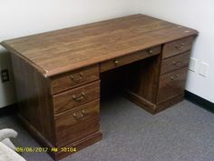 Executive Desk - http://get.sm/jvSFiDo #tradebank Office Furniture