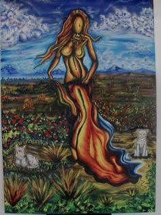 Pintura de Freya