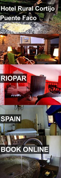 Hotel Hotel Rural Cortijo Puente Faco in Riopar, Spain. For more information, photos, reviews and best prices please follow the link. #Spain #Riopar #HotelRuralCortijoPuenteFaco #hotel #travel #vacation