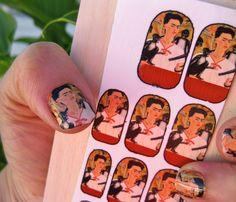 Frida nails!! Quuueee???