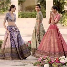 "Sabyasachi Mukherjee (@sabyasachiofficial) on Instagram: ""#Sabyasachi #SpringCouture2017 #TheUdaipurCollection #KishandasForSabyasachi @kishandasjewellery…"" Indian Bridal Lehenga, Indian Bridal Fashion, Indian Wedding Outfits, Asian Fashion, Indian Outfits, Indian Sarees, Pakistani Dresses, Indian Dresses, Indian Couture"