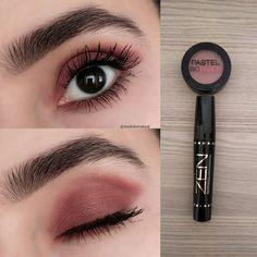 "History of eye makeup ""Eye care"", put simply, ""eye make-up"" happens to be an area Makeup Eye Looks, Skin Makeup, Eyeshadow Makeup, Gel Eyeliner, Makeup Goals, Makeup Inspo, Makeup Tips, Aesthetic Eyes, Aesthetic Makeup"
