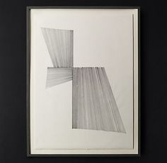 LR: Beside Armoire. Crips and Bold counterpoint to muted, aged tones. Three Line Drawing Abstract Lines, Abstract Wall Art, Abstract Print, Modern Drawing, Line Drawing, Black And White Artwork, All Wall, Wall Décor, Wall Art For Sale