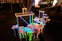 Amsterdam Light Festival. Via www.talesoftravelling.com