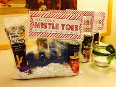 make your own tower of treats for co workers neighbors or friends christmas gift