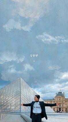 Chanyeol Baekhyun, Exo Kai, Park Chanyeol, Kim Joon Myeon, Exo Group, Exo Lockscreen, Z Cam, Solo Pics, Exo Ot12